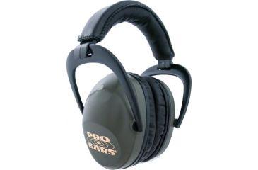 Pro-Ears Ultra Sleek Headset, Green PE-US-G