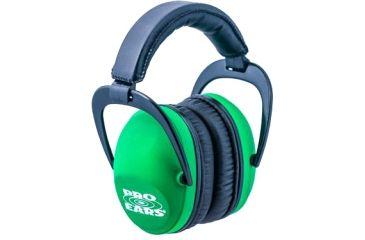 Pro-Ears Ultra Sleek Headset, Neon Green PE-US-NG