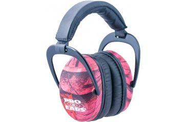 Pro-Ears Ultra Sleek Headset, Pink Camo PE-US-PC