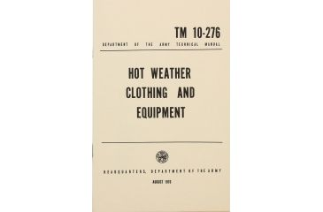 ProForce Book Hot Weather Clothing BK277