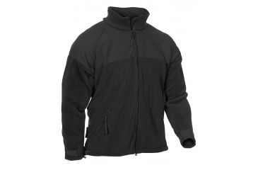 Propper Adventure Tech USMC Fleece Jacket, 100% Poly Fleece, Size Size Small, Color Black