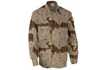 Propper BDU 4-Pocket Coat, 60/40 Cotton/Poly Twill, Choose Size Size Extra Small-Regular, Choose Color 6-Color Desert