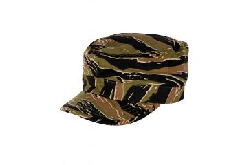 Propper BDU Patrol Cap, 100% Cotton Ripstop, Choose Size Size Small, Choose Color Asian Tiger