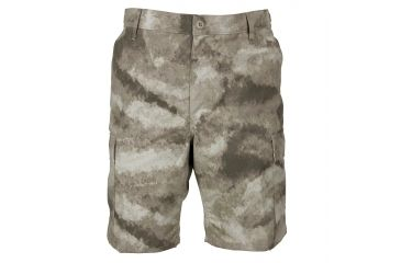 Propper Propper BDU Poly Cotton Battle Rip Shorts w/Button Fly, Large, A-TACS AU F526138379L