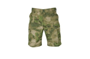 Propper Propper BDU Poly Cotton Battle Rip Shorts w/Button Fly, Small, A-TACS FG F526138381S