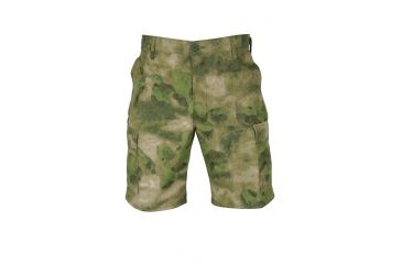 Propper Propper BDU Poly Cotton Battle Rip Shorts w/Button Fly, Extra Large, A-TACS FG F526138381XL