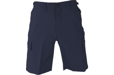 Propper BDU Poly Cotton Battle Rip Shorts w/Button Fly, Small, Dark Navy
