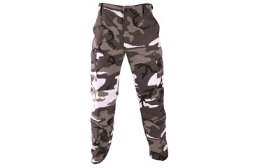 Propper BDU Trouser, 60/40 Cotton/Poly Twill, Size Small - Long, Color - Urban Camo