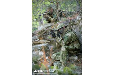Propper Propper BDU Trouser, 65/35 Poly/Cotton Battle Rip, Small Regular, A-TACS FG F520138381S2