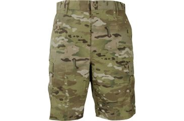 Propper BDU Shorts (Zipper Fly) Multicam, 65/35 Poly/Cotton Battle Rip, Size L F526138377L