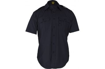 Propper Short Sleeve Tactical Shirt LAPD Navy, 65/35 Poly/Cotton Battle Rip, Size 4XL F5301384504XL