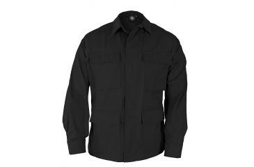 Propper Genuine Gear BDU 4-Pocket Coat, 60/40 Cotton/Poly Ripstop, Choose Size Size Extra Small-Regular, Choose Color Black