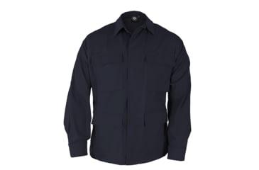 Propper Genuine Gear BDU 4-Pocket Coat, 60/40 Cotton/Poly Ripstop, Choose Size Size Extra Small-Regular, Choose Color Dark Navy