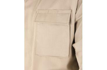 Propper Genuine Gear BDU 4-Pocket Coat, 60/40 Cotton/Poly Ripstop, Choose Size Size Extra Small-Regular, Choose Color Khaki