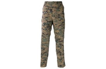 Propper Genuine Gear BDU Trousers, 60/40 Cotton/Poly Ripstop, Digital Woodland Camo