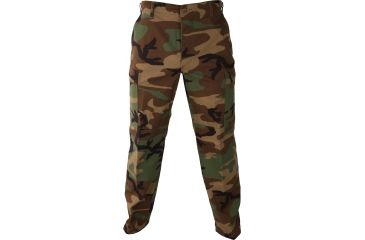 Propper Genuine Gear BDU Trousers, 60/40 Cotton/Poly Ripstop, Woodland Camo