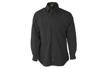 Propper Propper Lightweight Tactical Shirt w/ Long Sleeves, Charcoal Grey, Size Small Regular F531250015S2