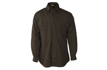 Propper Propper Lightweight Tactical Shirt w/ Long Sleeves, Sheriff Brown, Size Extra Small Regular F531250200XS2