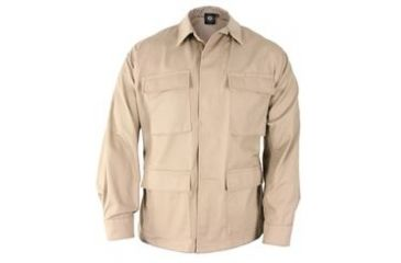Propper Mens Genuine Gear BDU Coat 60C/40P Khaki S Reg F545025250S2