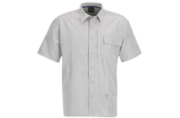 Propper Mens Independent Button Up Shirt Poly Grey Plaid 2XL F53520V0312XL