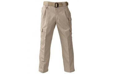 Propper Men's Tactical Trouser Khaki, 65/35 Poly/Cotton Canvas, Size 30X30 F52208225030X30