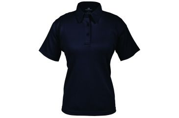 Propper Women's I.C.E. Performance Polo Short Sleeve Shirt, LAPD Navy, Large Regular F532772450L