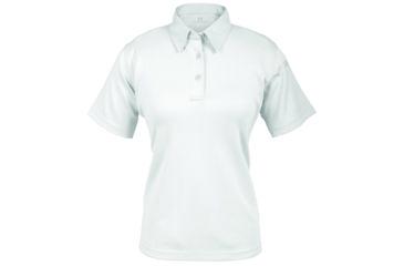 Propper Women's I.C.E. Performance Polo Short Sleeve Shirt, White, Large Regular F532772100L