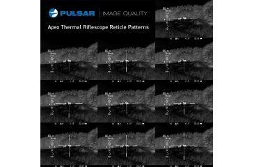 9-Pulsar Apex XD38A Thermal Riflescope