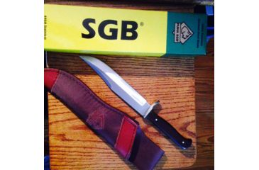 3-Puma Knives SGB Bowie Fixed Blade Knife,6.1in