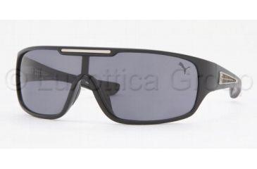 Puma Sunglasses PU15070, Puma PU 15070 Sunglasses Styles Black Frame / Gray Lenses