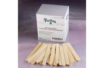 Puritan Medical Tongue Depressor, Puritan Medical Products 704 Tongue Depressor Nonstrl PK500