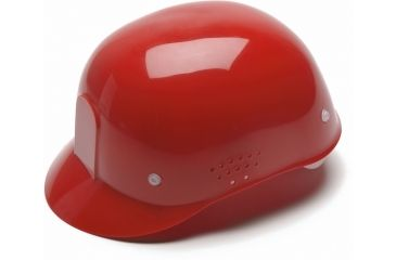 Pyramex 4 Point Snap Lock Suspension Bump Cap - Red HP34020