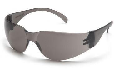 Pyramex 4100 Series Safety Glasses - Gray-Hardcoated Lens, Gray Frame S4120S