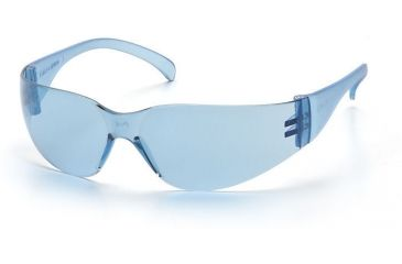 Pyramex 4100 Series Safety Glasses - Infinity Blue-Hardcoated Lens, Infinity Blue Frame S4160S