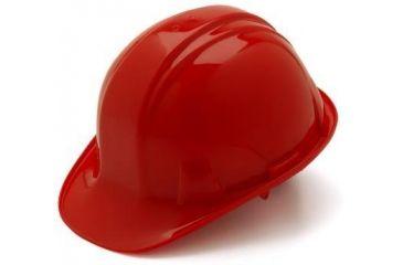 Pyramex 6 Point Red Hard Hat HP16020