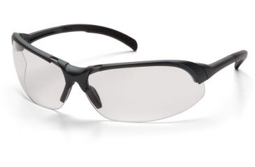 Pyramex Accurist Safety Glasses - Clear Lens, Slate Gray Frame SS4710D