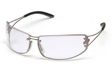 Pyramex Blazer Safety Glasses - Clear Lens, Ultra Lite Metal Frame SM4210D