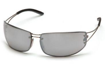 Pyramex Blazer Safety Glasses - Silver Mirror Lens, Ultra Lite Metal Frame SM4270D