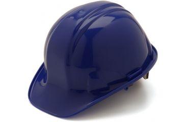 Pyramex Cap Style 4 Point Ratchet Suspension Hard Hat - Blue HP14160