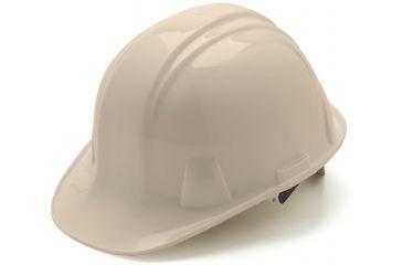 Pyramex Cap Style 4 Point Ratchet Suspension Hard Hat - White HP14110