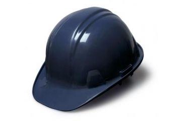 Pyramex Cap Style 4 Point Ratchet Suspension Helmet - Dark Blue HP14165