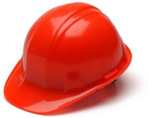Pyramex Cap Style 6 Point Ratchet Suspension Hard Hat - Hi Vis Orange HP16141
