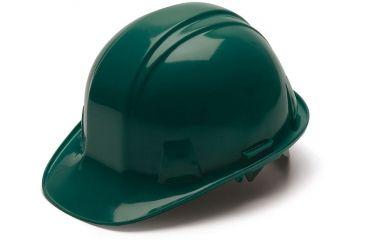 Pyramex Cap Style 6 Point Snap Lock Suspension Hard Hat - Green HP16035T
