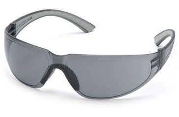 Pyramex Cortez Safety Glasses - Gray Lens, Gray Temples Frame SG3620S