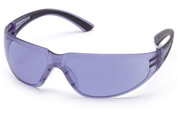Pyramex Cortez Safety Glasses - Purple Haze Lens, Black Temples Frame SB3665S