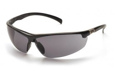 Pyramex Forum Safety Glasses - Black Frame, Gray Lens