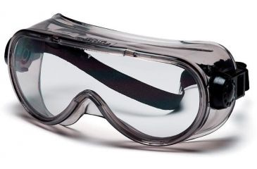 Pyramex Goggles with Clear Anti-Fog - Exceeds CSA Z94.3 standards Lens Chem Splash Frame G304T