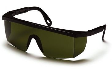 Pyramex Integra Safety Glasses - 3.0 IR Filter Lens Lens, Black Frame SB460SF