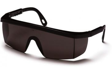 Pyramex Integra Safety Glasses - Gray Lens, Black Frame SB420S