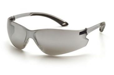 Pyramex Itek Gray Temple Frame Silver Mirror Lens S5870S